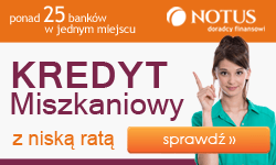 Kredyty mieszkaniowe Notus Kraków
